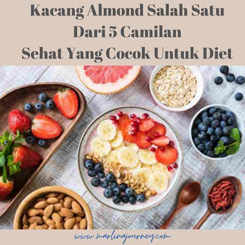 Kacang Almond Camilan Sehat Untuk Diet