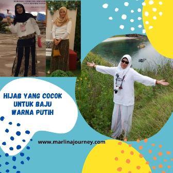 Hijab yang cocok untuk baju putih