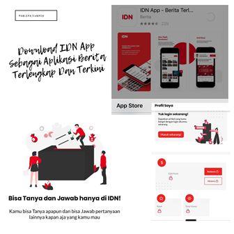 Download IDN App Sebagai Aplikasi Berita Terlengkap Dan Terkini