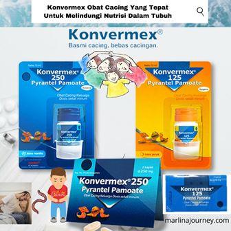 Konvermex Obat Cacing Yang Tepat Untuk Melindungi Nutrisi Dalam Tubuh.