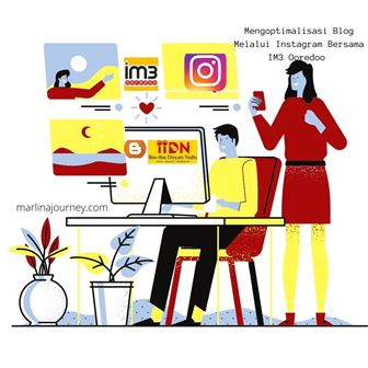 Mengoptimalisasi Blog Melalui Instagram Bersama IM3 Ooredoo