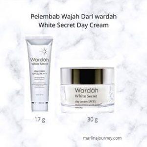 Pelembab Wajah Dari Wardah White Secret Day Cream Yang Mencerahkan