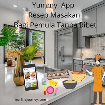 yummy app resep masakan bagi pemula