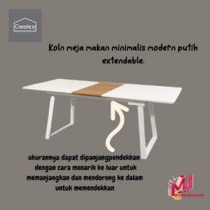 Meja Makan Minimalis Modern dari iCreate.id