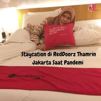 Staycation di RedDoorz Thamrin Jakarta Saat Pandemi