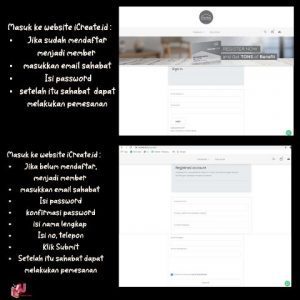 Registrasi keanggotan iCreate.id