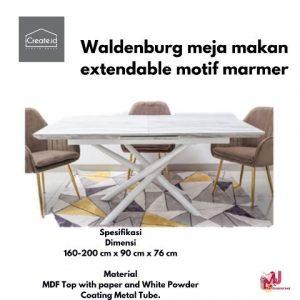 Meja makan minimalis modern dari iCreat