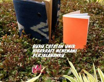 Buku Catatan Unik Hibrkraft Menemani Perjalananku