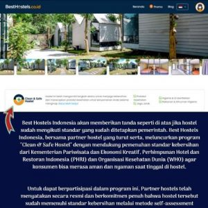 nginep di hostel besthostels indonesia
