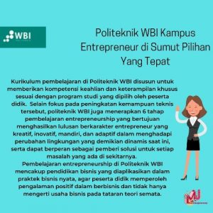 kampus entrepreneur di Sumut