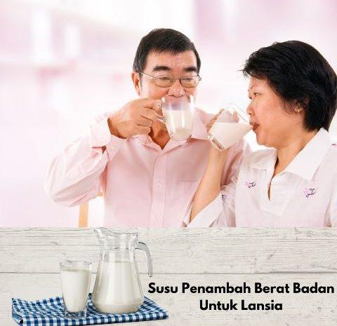 Susu Penambah Berat Badan Untuk Lansia